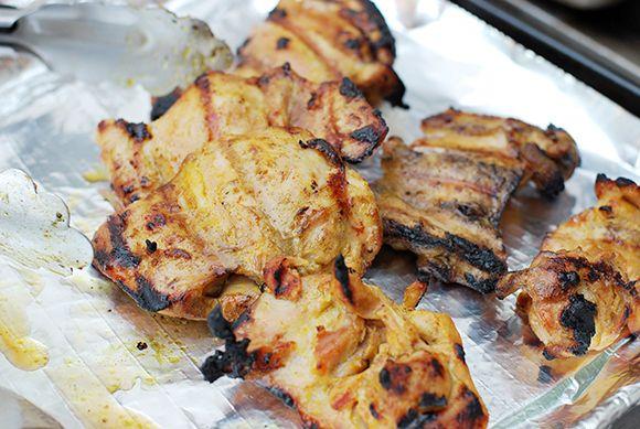 My FAV easy summer grilling marinade... Chicken Satay