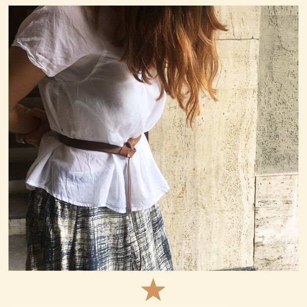 Long cotton skirt with white shirt by @bacomilano. Amazing! ⭐️ #bacomilano #shopping #milano #shop #shopourinstagram #shoponline #shoplocal #fashion #instafashion #girl #womanstyle #womanfashion #styles #style #fashionmagazine #ss17collection #dress #spring #summer #summerdress