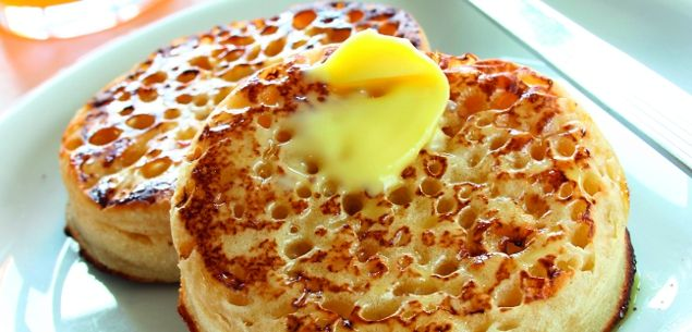 There's nothing quite like a hot, homemade crumpet drizzled with butter and perhaps a little honey to make you feel all warm and cosy.