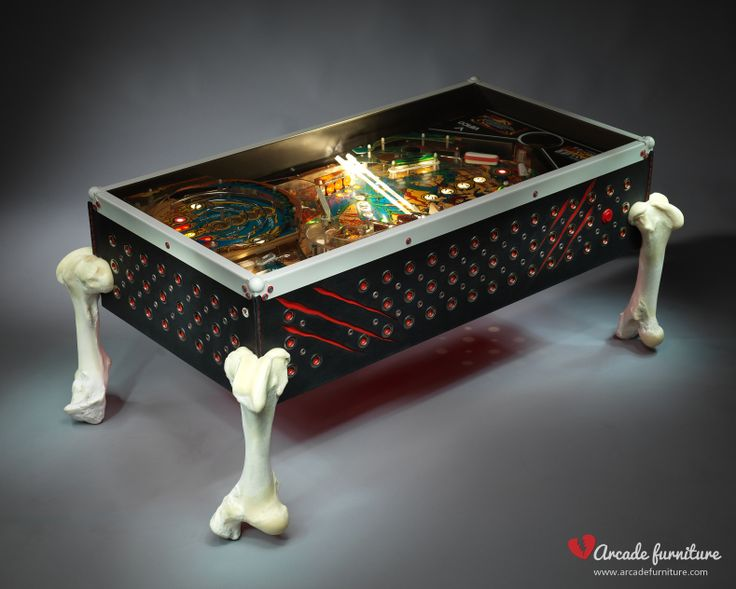 This luxury spider-like monster with its premium black leather covering, metal rivets and wonderful claw marks is a real hardcore piece of the Arcade Furniture. For further information please visit our website of Fb page: www.arcadefurniture.com  http://www.facebook.com/pages/Arcade-Furniture/208886032582245
