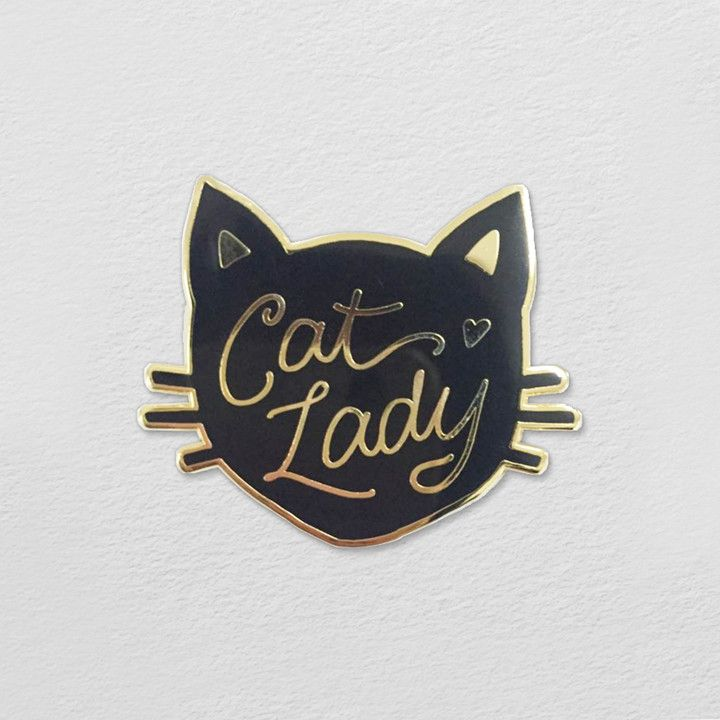 Calling all cat ladies! This teensy tiny lapel pin makes the most charming…