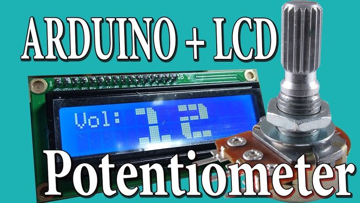 Arduino LCD BIG DIGITS with Potentiometer tutorial