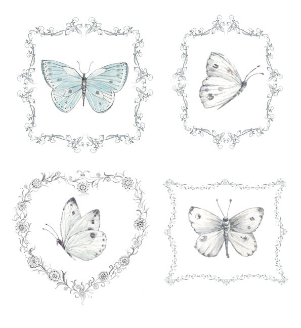 Shabby Chic Butterfly