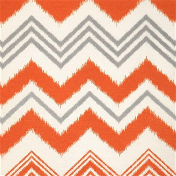 Zazzle Orange And White Indoor/Outdoor Fabric By Premier Prints   31751    Buy Fabrics