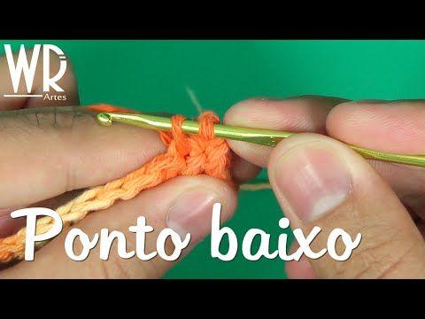 4 Pontos de Crochê Passo a Passo Para Iniciantes | Revista Artesanato
