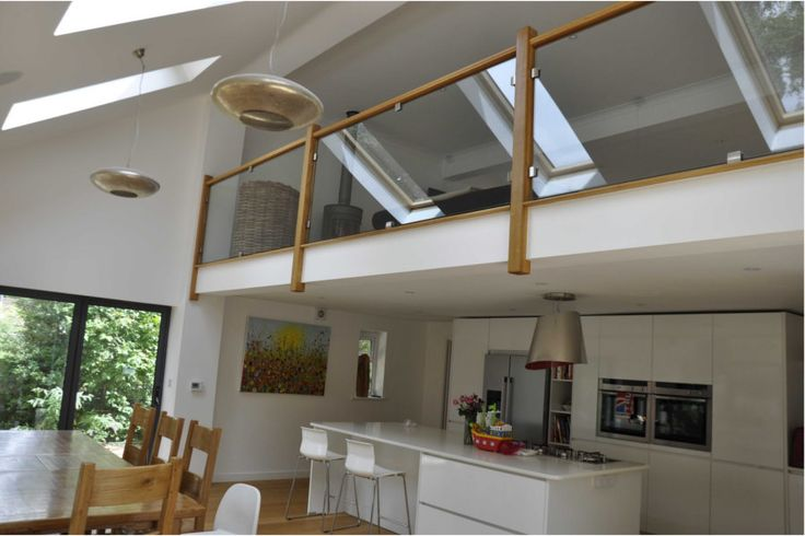 Kitchen with mezzanine google search house design pinterest rear extension extension - Open mezzanine ...