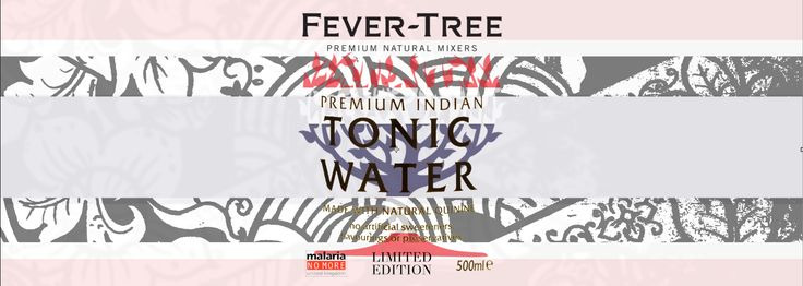Fever Tree Tonic Water: Label Mock Up