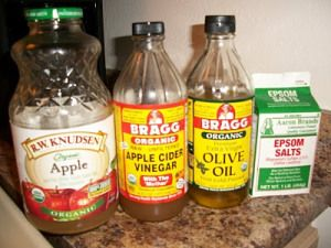 Gallbladder cleanse Epsom Salt, Sea Salt or Magnesium Citrate Organic Virgin Olive Oil Organic Grapefruit Juice or Organic Orange Juice