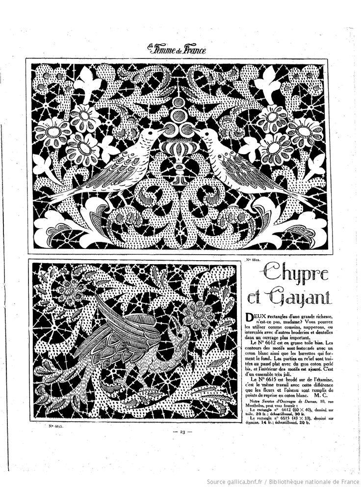 """Les Dimanches de la femme : supplément de la """"Mode du jour"""" 1923/11/18 (A9,N445)"""