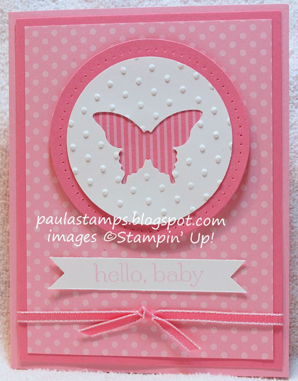 Stampin' with Paula