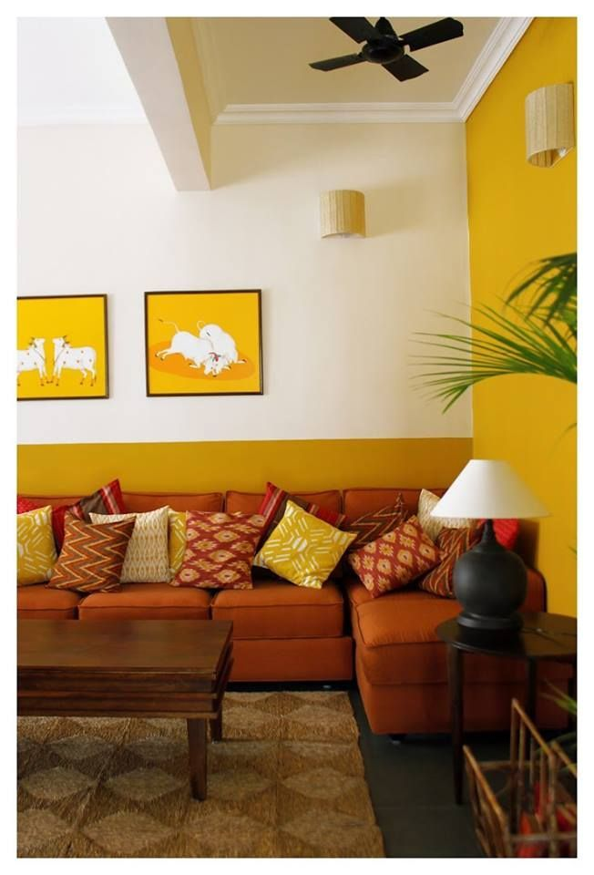 A Color Scheme Can Establish The Tone For Your Living Room Locate A Fresh Appearance For You Indian Home Decor Living Room Color Combination Indian Room Decor