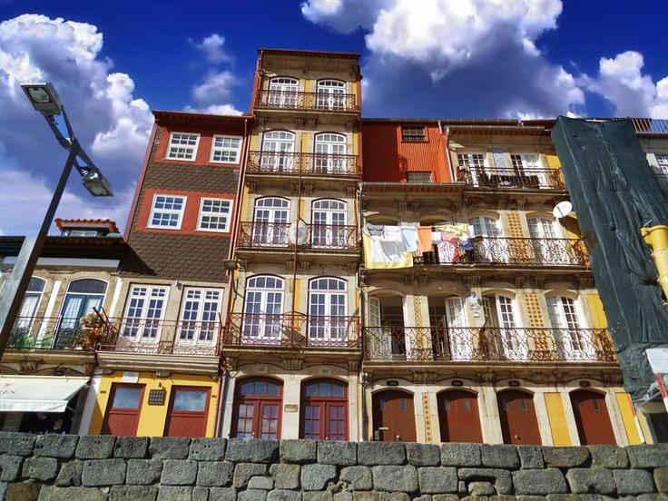 Casas típicas da Ribeira