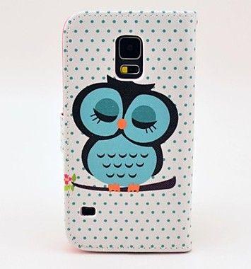 Samsung Galaxy S5 I9600 Owl Cases