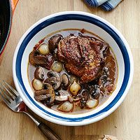 Easy Coq au Vin My husband and I cooked this for Valentine's dinner, together. It was fantastic! Easy as could be and tasted wonderful. Will absolutely make again. Simple ingredients that were all on hand.