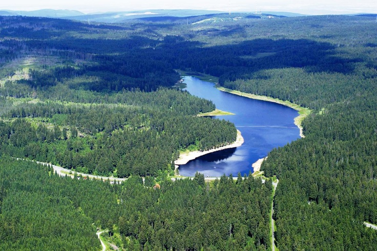 Oderteich bei St. Andreasberg   Quelle: Harzwasserwerke GmbH (c)