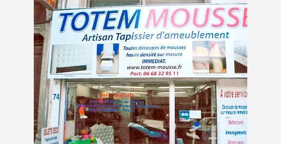 Totem Mousse à Villeurbanne