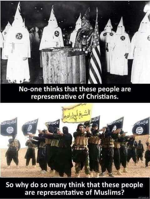 KKK & ISIS...