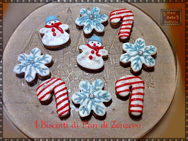I biscotti di pan di zenzero per Babbo Natale   Non solo delizie