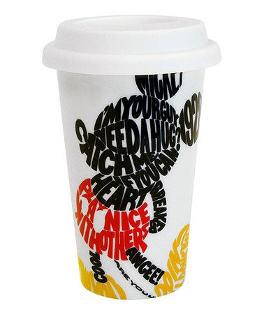 Take a look at this Disney Mickey Insulated Travel Mug by Disney Kitchen Collection on #zulily today!