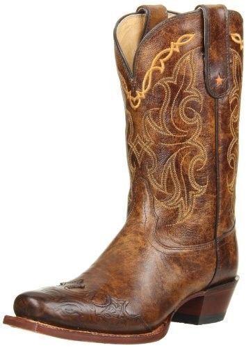 Tony Lama Women's Bark Santa Fe Vaquero Leather Cowboy Western Boots VF6004  | eBay