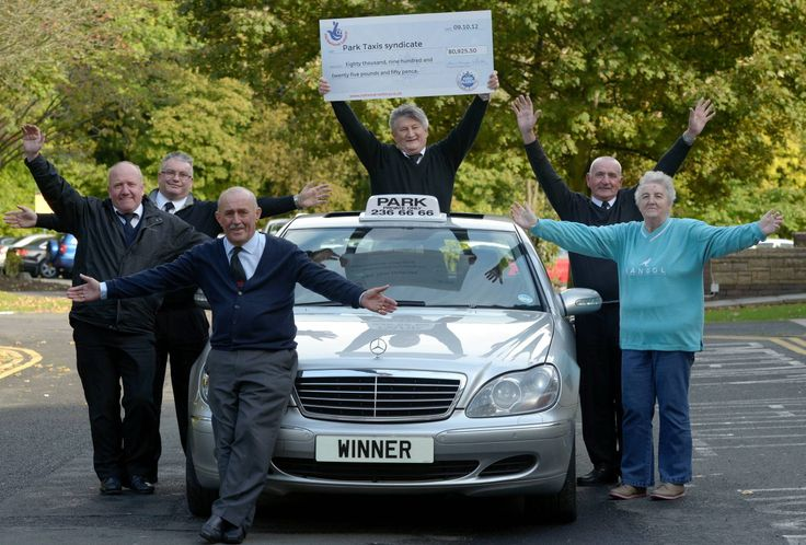 A syndicate of taxi drivers from Newcastle upon Tyne are celebrating after scooping £80,925.50 in the EuroMillions draw on 9 October 2012, matching five numbers and one lucky star. Read more: http://www.chroniclelive.co.uk/news/local-news/gosforth-taxi-firm-syndicate-one-1372803  dont you just love it... well done guys