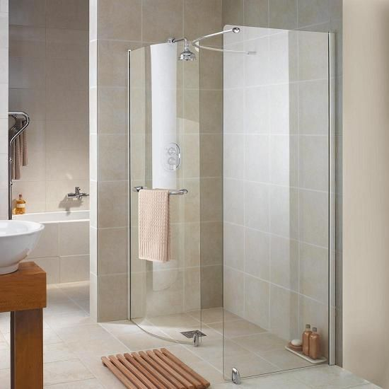 Spring Showers Bring Wet Basements: Tiled Shower From Bathroom Direct