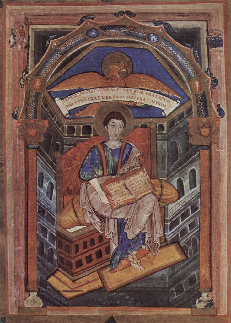 Evangelario de San Juan / Eduardo de Soisson S. IX
