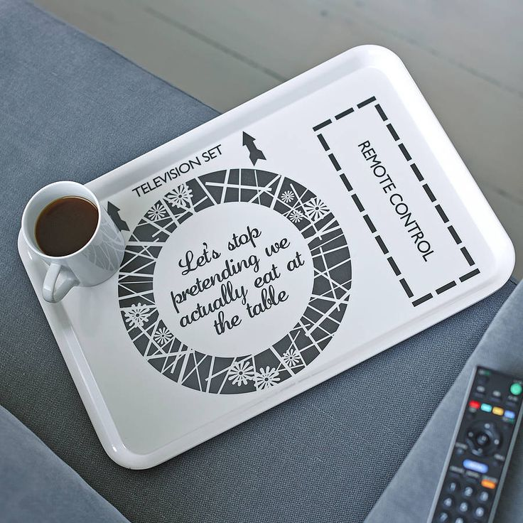 ultimate tv dinner tray by catherine colebrook | notonthehighstreet.com