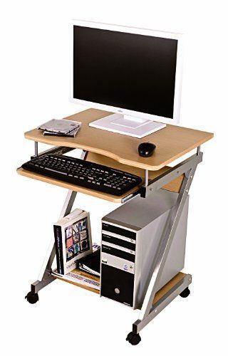 Small-Computer-Desk-Office-Workstation-Table-Student-Keyboard-PC-Wood-Furniture