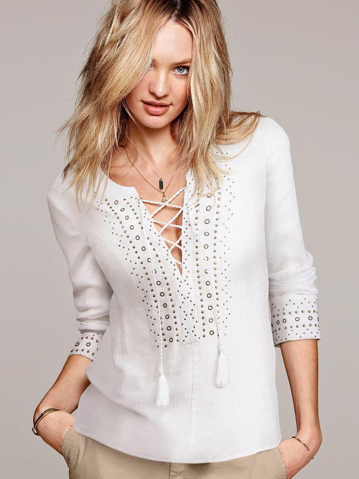 Embellished Tunic - Victoria's Secret