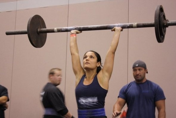 Strong woman, Stef, owner of my gym!!!! She's incredible!!!!