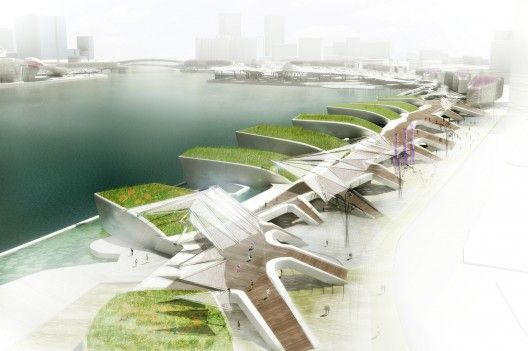 Kaohsiung Maritime Cultural & Pop Music Center Competition winner / MADE IN