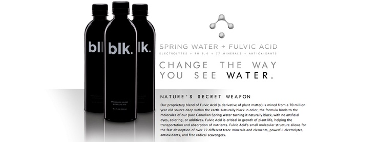 57 Best Recipes Black Fulvic Mineral Water Blk Beverages