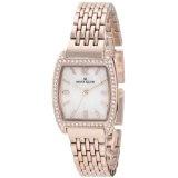 Anne Klein Women's 109726MPRG Swarovski Crystal Rosegold-Tone Bracelet Watch (Watch)  #Whatches