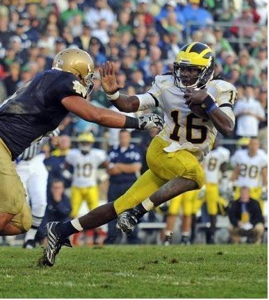 Image detail for -Denard Robinson heisman trophy award michigan football college ...
