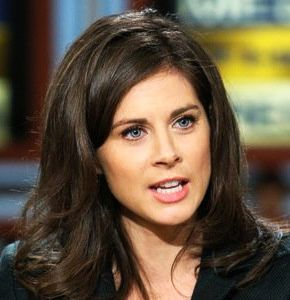 News reporter Erin Burnett from CNN is a classic Clear Winter.