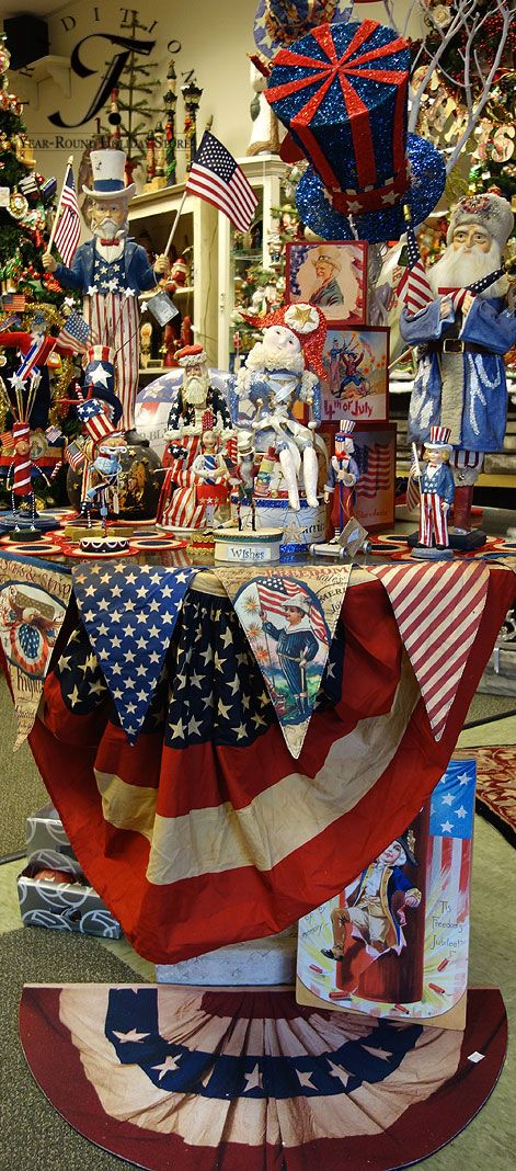 Patriotic Decorations & Patriotic Ornaments