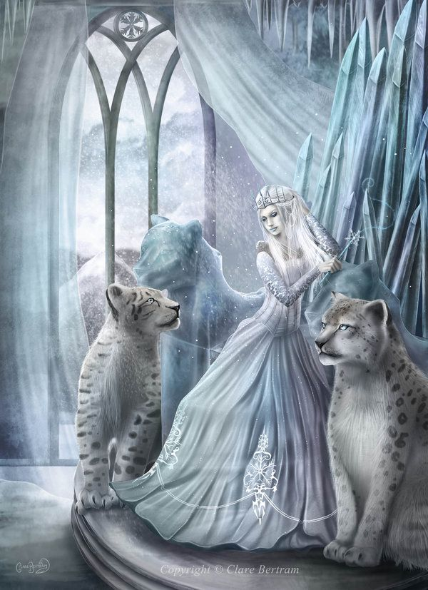 The Snow Queen by CLB-Raveneye on deviantART