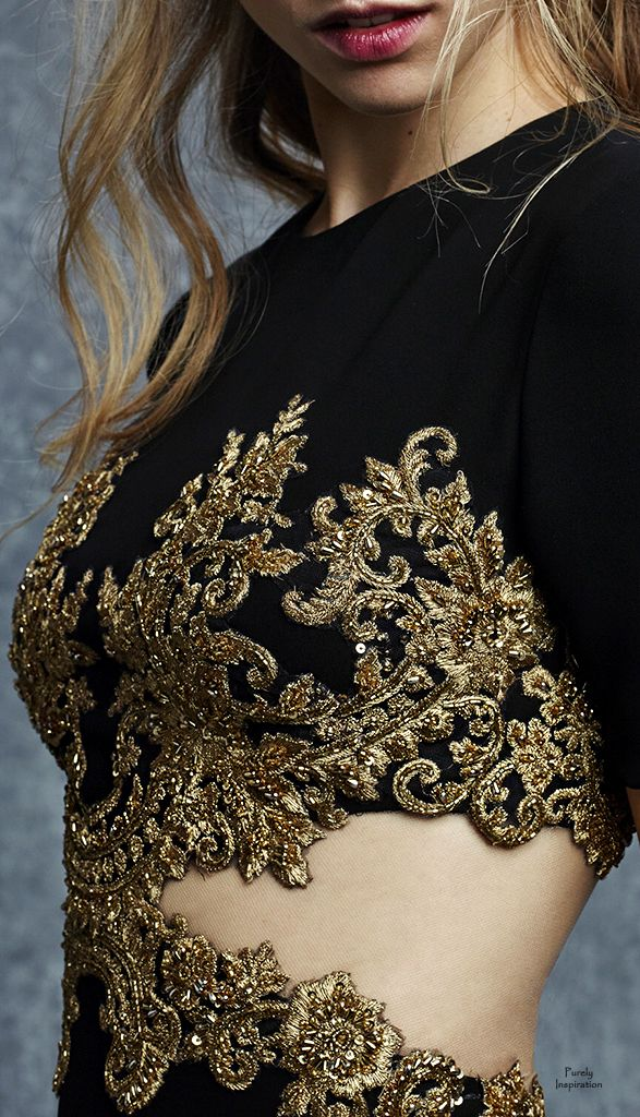 Reem Acra Pre-Fall 2015 | Purely Inspiration http://www.style.com/fashion-shows/pre-fall-2015/reem-acra/collection