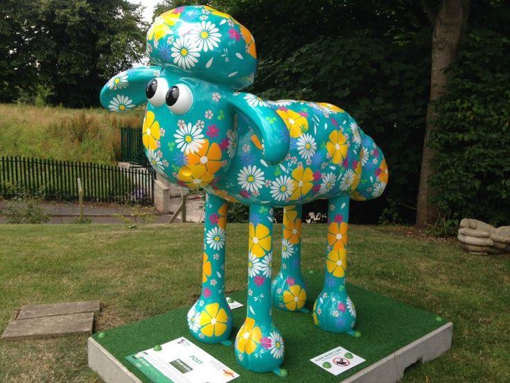 Shaun in the City Bristol - Posy - located at Riverside Garden Centre