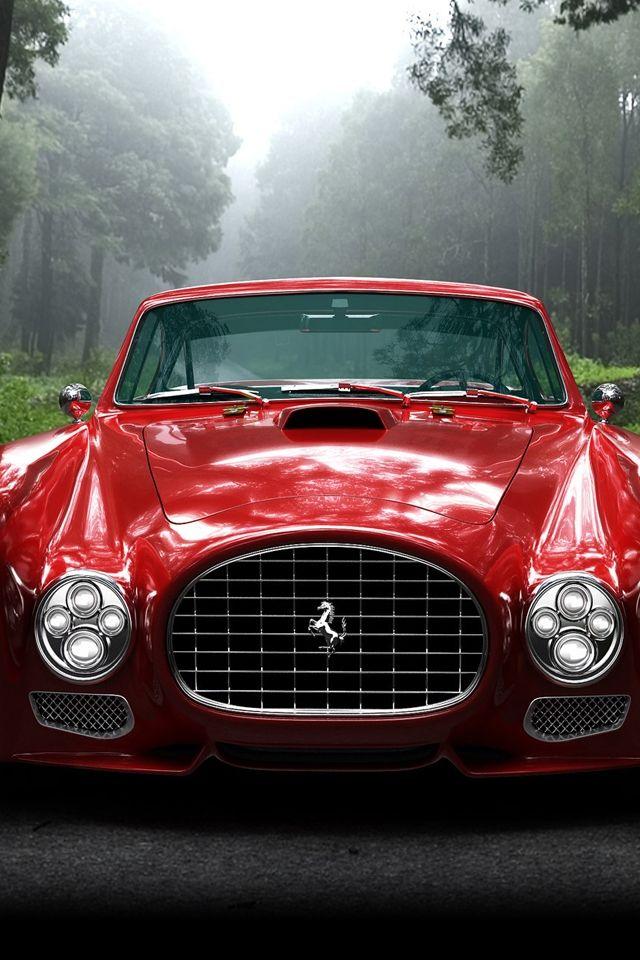 Classic F340 Ferrari HD Retina Red