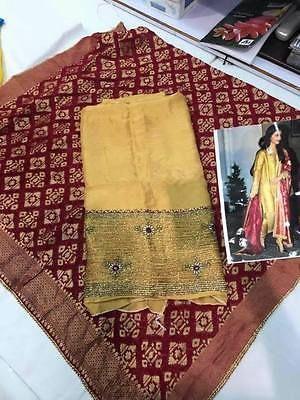 Yellow Ethnic Designer Indian party wear Punjabi Patiala Festival wedding suit