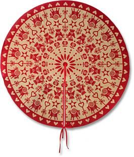 Exactly what I have been looking for for the past couple years!  Mama's Christmas Tree Skirt-Ingebretsens ... Since 1921