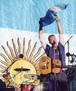 Coldplay en Argentina