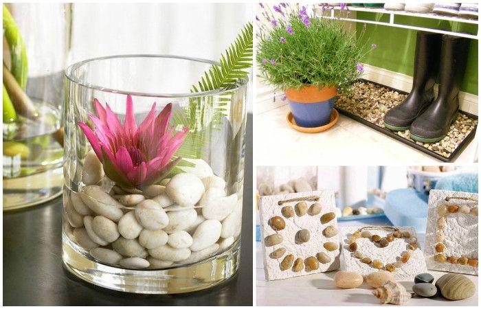 Идеи вашего дома: 15 идей оригинального декора из натуральных камней, которые сможет повторить каждый http://kleinburd.ru/news/idei-vashego-doma-15-idej-originalnogo-dekora-iz-naturalnyx-kamnej-kotorye-smozhet-povtorit-kazhdyj/  Присоединяйтесь к нам в Facebook и ВКонтакте Декор из камней для дома. Вокруг нас — множество вещей, которые могут стать материалом для декора. В их числе — мелкие камешки или галька, привезенные из отпуска. Такой декор долговечен и будет радовать неизменным внешним…