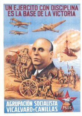 Spain - 1936-39. - GC - poster - PSOE