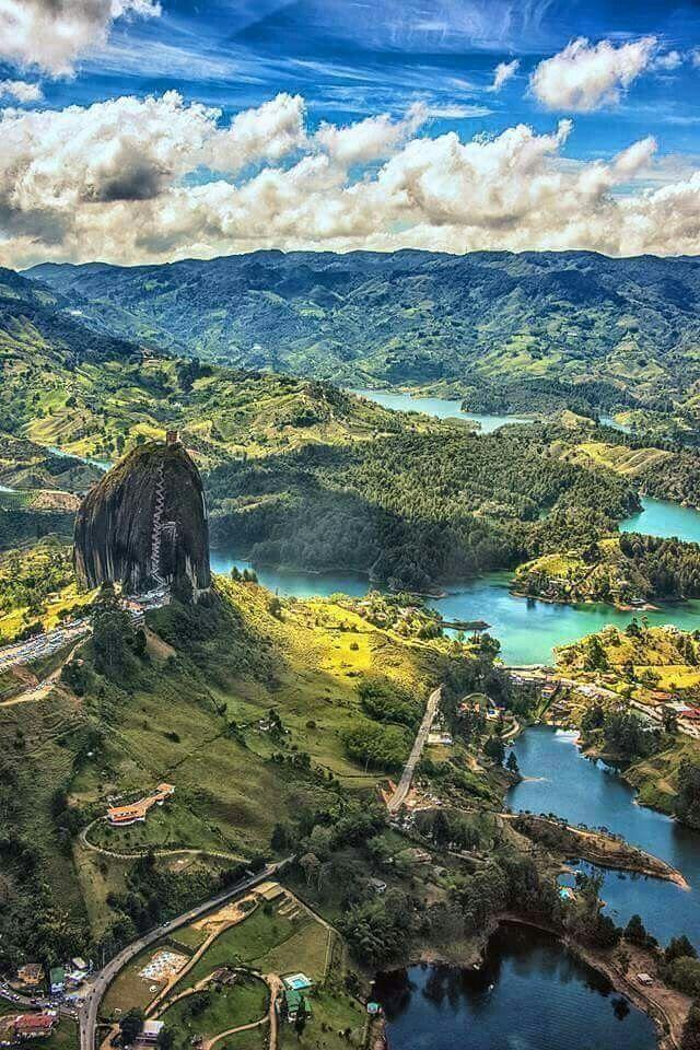 Guatape Antioquia Lugares Turisticos De Colombia Paisajes Naturales De Colombia Paisajes De Colombia