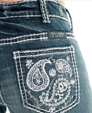 "NEW ""Cowgirl Tuff"" Paisley Bling Jean (Coming Soon)"