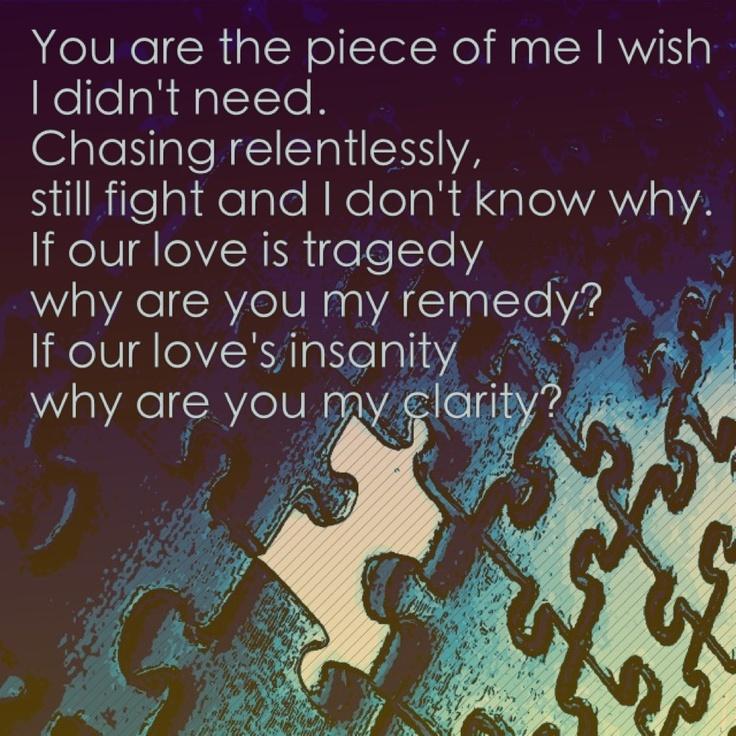 Clarity Sing Me To Sleep Lyric Quotes Clarity Zedd