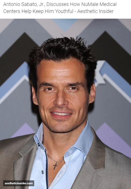 In this interview with Aesthetic Insider, Antonio Sabato Jr. discusses how NuMale Medical Center keeps him youthful. . . . . #AntonioSabatoJr #NuMale #Youthful #AestheticInsider #Health #HealthNews #BHRT #HRT #Hormones #Aging #Youth #HormonalImbalance #LowT #Testosterone #TRT #TestosteroneTherapy #AntiAging